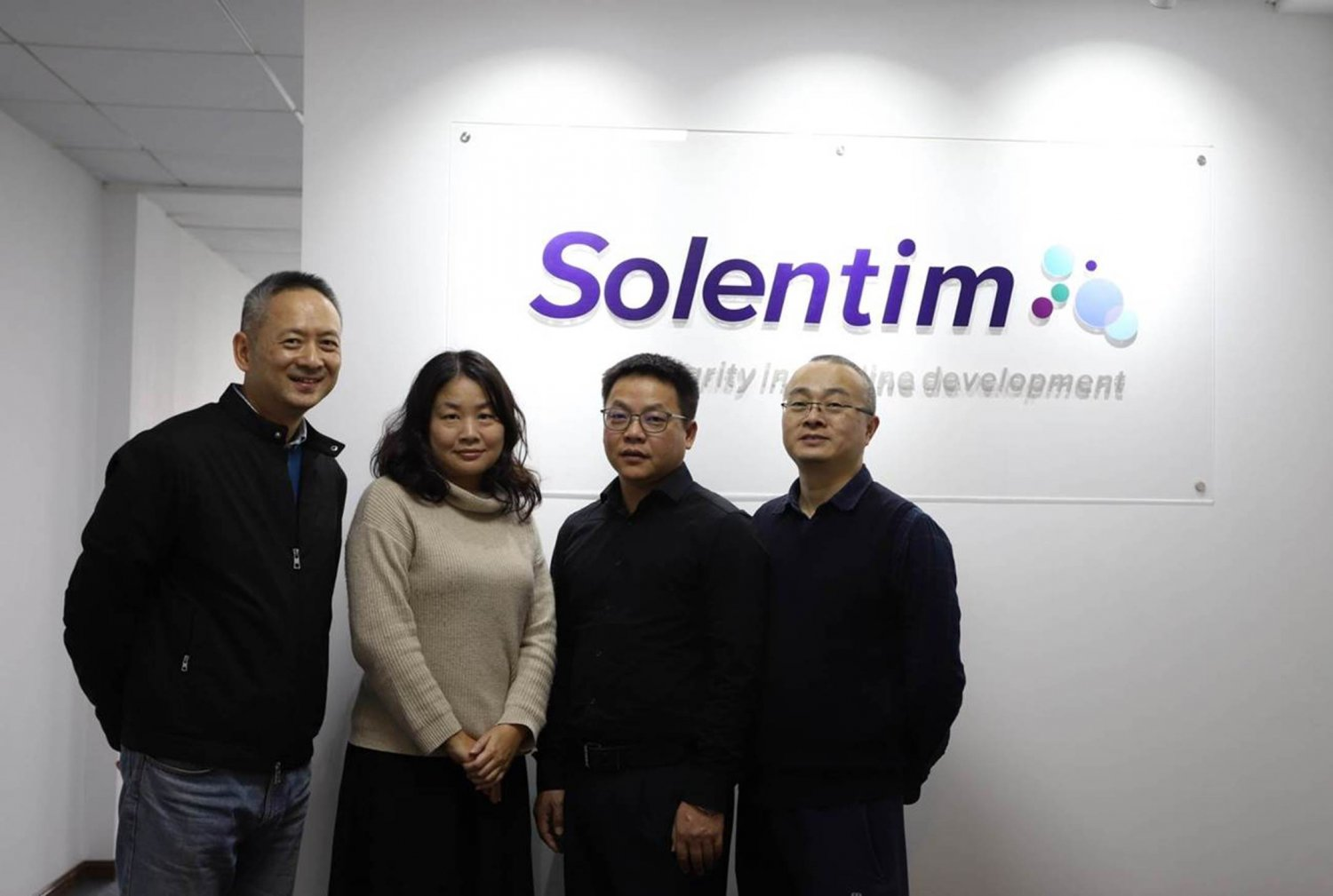 Solentim China team